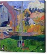 Brittany Landscape Acrylic Print