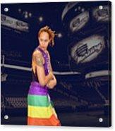 Brittney Griner Lgbt Pride 2 Acrylic Print