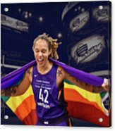Brittney Griner Lgbt Pride 3 Acrylic Print
