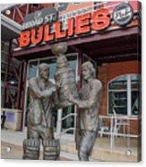 Broad Street Bullies Pub - Clarke And Parant Acrylic Print