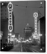 Broadway 1928 Acrylic Print