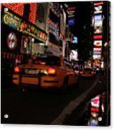 Broadway Lights Acrylic Print