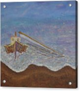 Brocken Mast Acrylic Print