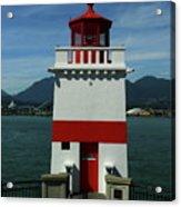 Brockton Point Light Acrylic Print