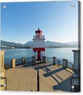 Brockton Point Lighthouse At Stanley Park Acrylic Print
