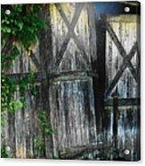 Broken Barn Door Acrylic Print by Joyce Kimble Smith
