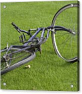 Broken Bicycle Acrylic Print