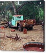 Broken Down Pickup Truck Acrylic Print
