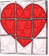 Broken Heart Acrylic Print