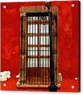 Broken Lamp Post Acrylic Print