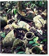 Broken Pots Acrylic Print