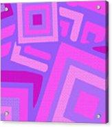 Broken Squares Acrylic Print