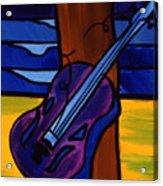 Broken Strings Broken Dreams Acrylic Print