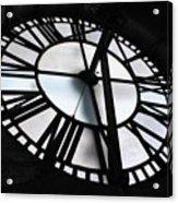 Bromo Seltzer Clock Acrylic Print