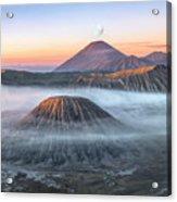 bromo tengger semeru national park - Java Acrylic Print