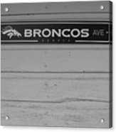 Broncos Avenue Acrylic Print
