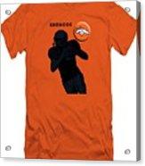 Broncos Football Acrylic Print