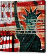Bronx Graffiti - 4 Acrylic Print