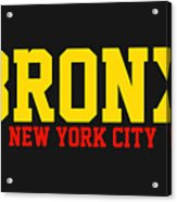 Bronx Acrylic Print