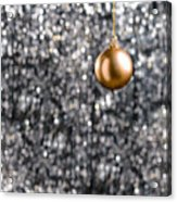 Bronze Christmas  Acrylic Print
