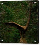 Bronze Eagle Acrylic Print