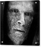 Bronze Face Acrylic Print