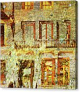 West Side Van Gogh Acrylic Print