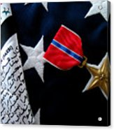 Bronze Star Acrylic Print