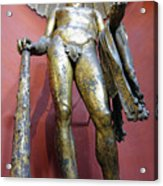 Bronze Statue Of Hercules In The Vatican Museum Acrylic Print