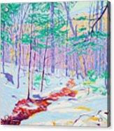 Brook In Winter, 1914 Acrylic Print