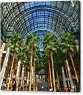 Brookfield Place Atrium - N Y C # 2 Acrylic Print