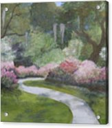 Brookgreen Gardens In Spring Acrylic Print by Shirley Lawing