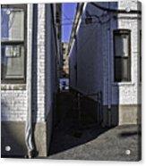 Brooklyn Alleyway Acrylic Print
