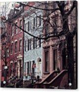 Brooklyn Acrylic Print by Benjamin Matthijs