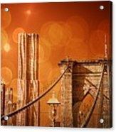 Brooklyn Bokehs Acrylic Print