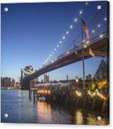 Brooklyn Brdige New York  Acrylic Print