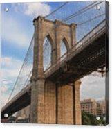 Brooklyn Bridge - Eastbound Acrylic Print