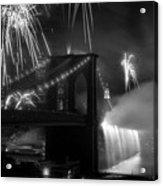 Brooklyn Bridge Columbus Quincentennial 1992 Acrylic Print