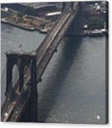 Brooklyn Bridge From The Beekman Acrylic Print