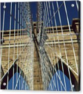 Brooklyn Bridge New York City Acrylic Print