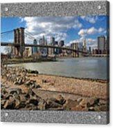 Brooklyn Bridge...triptych Acrylic Print