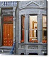Brooklyn Brownstone Window Acrylic Print