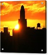 Brooklyn Dawn  Acrylic Print