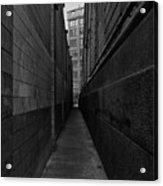 Brooklyn Dumbo Alley Acrylic Print