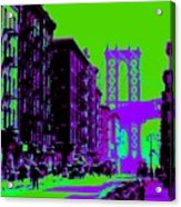 Brooklyn Green Acrylic Print