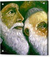 Brooklyn Rabbi Acrylic Print