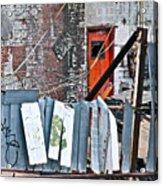 Brooklyn Scene Acrylic Print