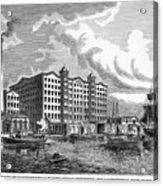 Brooklyn: Sugar Refinery Acrylic Print by Granger