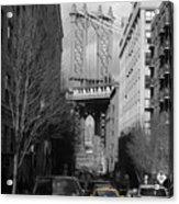 Brooklyn Taxi Acrylic Print