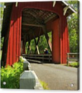 Brookwood Covered Bridge Acrylic Print